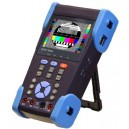 3.5 inch IP CCTV Tester M-CST-SKR with PoE