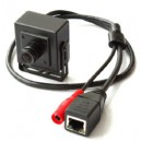 1.0 MP mini size ATM IP camera 6mm Face Detection