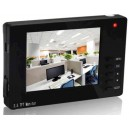 4.3 Inch Digital TFT LCD CCTV Monitor 2 CH Video Input