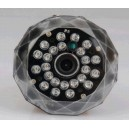 SD video recording 720P HD cctv lamp camera with tf slot