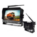 "7"" digital wireless monitor with 2 camera"