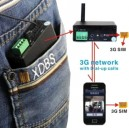 3G Button Camera With 3G sim card wireless remote control