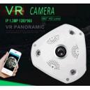 IP 1.3mp VR fish eye camera 360 view