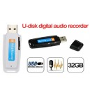 Voice Recorder & Monitor with File encryption Function 4GB