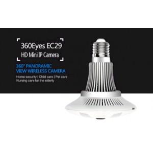 4pcs LED light 960P full hd mini hidden camera IR night vision bulb wifi camera
