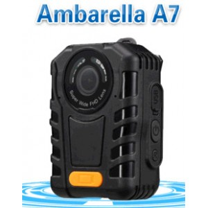 IR Light Police Body Worn camera Ambarella A7 Chipset