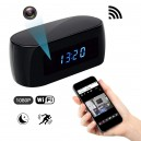 Digital Alarm Clock CCTV Camera Full HD Clock Wifi 1080P P2P Network 16GB