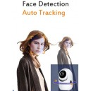 PT Human Body tracking Two Way Audio Infrared Night Vision Camera 3.6mm