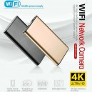 High Quality Wireless Power Bank Camera Mini spy Camera Charger H8 Night vision 16GB