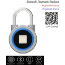 Bluetooth Fingerprint Padlock, Mini Size,Waterproof