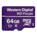 WD Purple 64GB Surveillance microSD HC Class 10