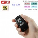 WIFI Carkey Camera, HD 4K/2.7K/1080P/720P,Max 120fps, App Control, TF Max128G, High Quality