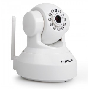 Foscam FI9816P white HD Plug&Play indoor camera +SD record
