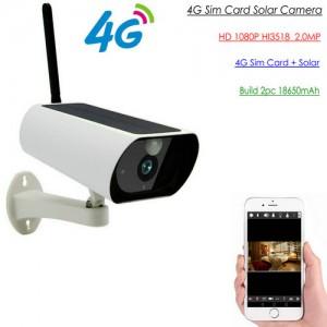 4G Low Power Solar Camera