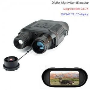 Digital Nightvision Binocular, Magnification 3.5-7x