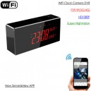 WIFI Clock Camera, NEW APP & Server 16GB