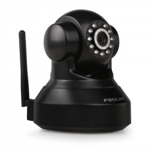 Foscam FI9816P black HD Plug&Play indoor camera +SD record