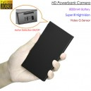 HD Powerbank Camera, HD1080P 16GB