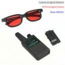 Multifunctional Detector, RF Signal & Mobile Phone& Camera lens & Magnet Detector,1-8000MHz