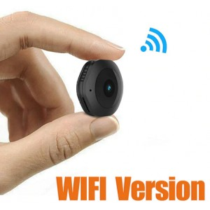 Mini WiFi Camera Wireless HD 1080P Portable Home Security Small Secret Cam with Motion Activated/Night Vision hidden Espion 16GB