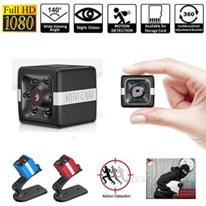 FX02 Mini Camera 1080P Sensor Night Vision Camcorder Motion DVR Micro Camera 16GB