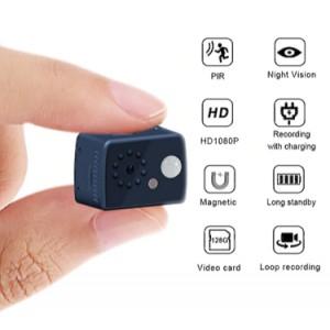 1080P HD Mini Camera Motion Detection PIR Camera Night Vision DVR 16GB