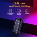 SPY 500hours micro Voice recorder 16GB