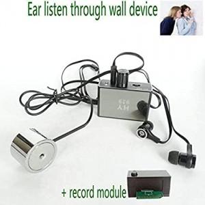 Super Sensitive Listen Thru-wall Contact/probe Microphone