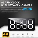 4K HD WiFi  Alarm clock WiFi network camera 16GB