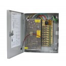 Power Supply 12V 10A 9 channel